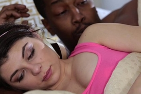 TeensLoveBlackCocks - Teen Wakes up Hot Step-Brother almost drink up one's heart almost