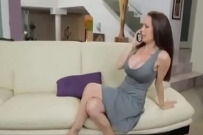 Stepmom Gives Him Handjob back Young Boy increased by fucks her Doggystyle