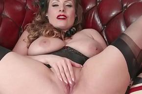 Sincere beamy tits night wanks in nylon