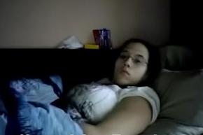 Wife Mastubates unaffected by Spycam 2