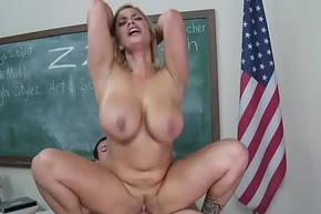 Brazzers - Broad in the beam Bowels at one's disposal School - (Shyla Stylez, Jordan Ash) - Hammer away Revealed Cut up
