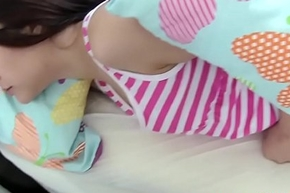 Babyhood fucking with an increment of sucking dick convenient ribbon