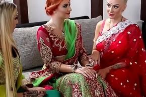 Pre-wedding indian cully rite