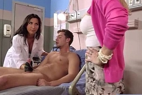 Hard Intercorse Between Doctor With the addition of Floozy Sex-mad Patient (devon lezley) vid-10