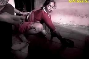Glum indian Maid