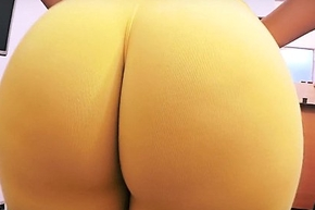 Cane clumsy arse ever! humongous within reach hand bubble-butt! close-matched waist!