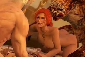 FapZone // Triss Merigold (The Witcher 3)